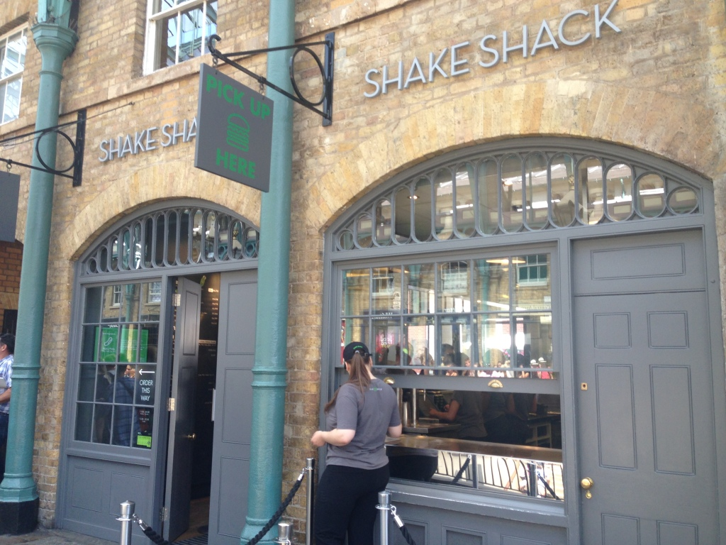 Shake Shack Covent Garden