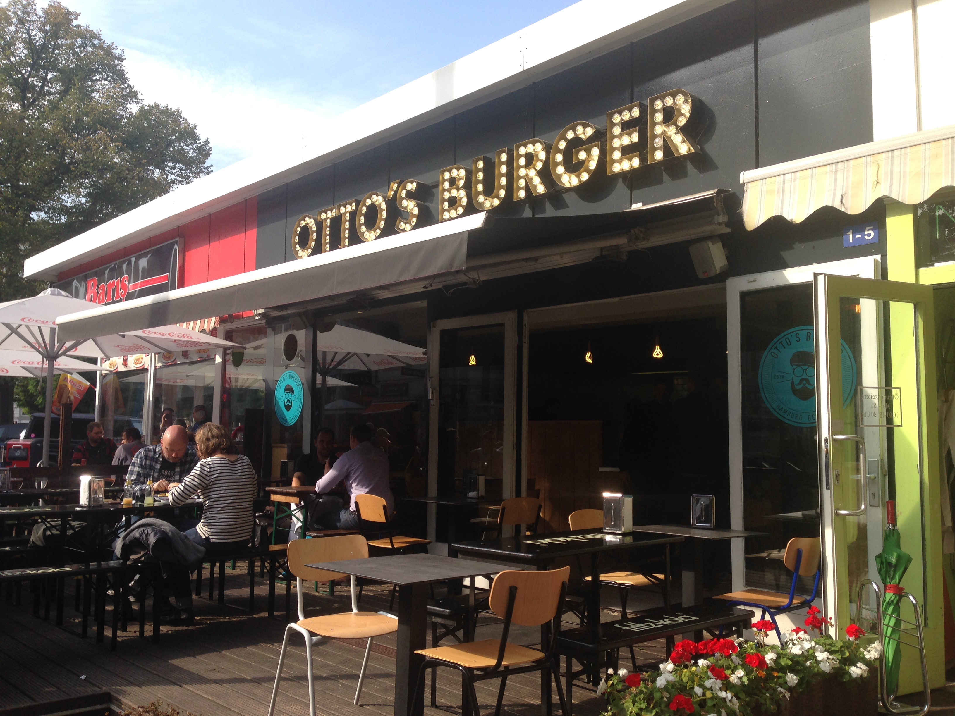 otto s burger hamburg germany out for lunch
